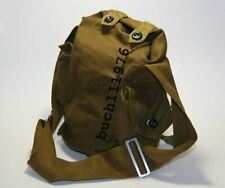 City Metro  NBC Russian Gp-5 Gas Mask Canvas Bag with Belts Indiana Jones new