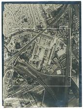 Photo vue aérienne de Tarascon Bouches du Rhône  Gard 1948 cadastre