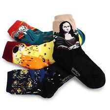 Famous Painting Socks(4-Pack) Starry Night Scream Mona Lisa Kiss Classic Art  DD