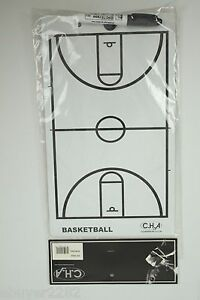 NEW Basketball Court Dry Erase Board & Clipboard - Coach - Coaching - Draw Plays