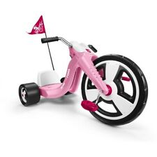 Big Wheel Tricycle Trike Bike 3-Wheel  Radio Flyer Classic Kids Pink Toddler