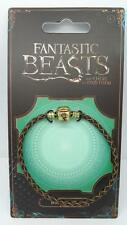 New Official Fantastic Beasts and Where to Find Them Brown Charm Bracelet-Large