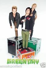 "GREEN DAY ""GROUP STANDING ON TOUR BOXES"" POSTER FROM ASIA -U.S. Punk Rock Music"
