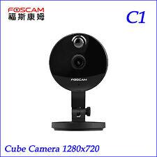 P2P Foscam C1 Mini Wireless IP Camera HD 720P Onvif Wide 115° View Angle