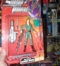 STARSHIP TROOPERS ACTION FIGURE CARMEN IBANEZ, NEVER OPENED, FROM GALOOB.