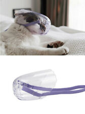 Breathable Cat Muzzle Anti Bite Biting Bath Travel Tool Hole Cat Grooming Cover