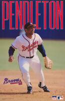 POSTER: MLB BASEBALL :TERRY PENDLETON - ATLANTA  BRAVES - FREE SHIP  RW16 A