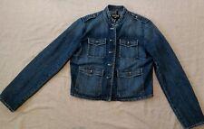 Women's/Junior Ralph Lauren Polo Jeans Co. Black Label Jean  Jacket Size Large