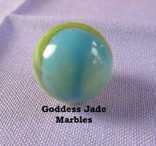 "Antique VitroTiger Eye (Type 1) Marble 5/8"" Goddess Jade Marbles"