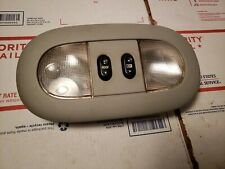 Ford F150 F250 F350 Overhead Lighted Console w Sunroof & Rear Window Switch OEM