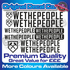 Premium Quality WeThePeople bmx replacement Bike Decals Stickers - we the people