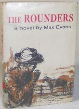 1960 First Edition Hardcover Book The Rounders Max Evans Ex-Library Macmillan