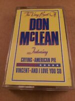 The Very Best Of Don McLean : Vintage Cassette Tape Album From 1980