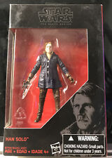 Action Figure Han Solo Striker Base Star Wars by Hasbro The Black Series Sealed