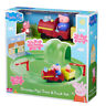 New Peppa Pig Grandpa Pig's Train & Track Set With Sound