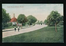 Dorset POOLE East Park Gates + local children Used 1905 PPC by Valentine