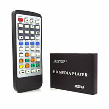 New JUSTOP HD Multi Media Player RM MKV HD 1080P HDMI USB TV Box For SD Card HDD
