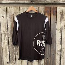 G-Star Raw Eva Shaw Long Body Baseball Women's Shirt Sm Vgc