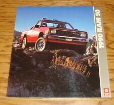 Original 1990 Dodge Ram 50 Deluxe Sales Brochure 90
