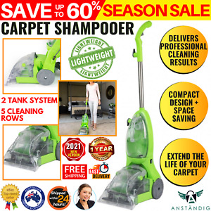 Carpet Cleaner Washer Wet Floor Cleaning Machine Shampooer Home Office Upright