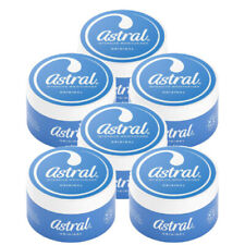 6 x Astral - Original Face Hands Body Moisturiser - All Over Cream - 50ml