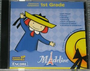 NEW Madeline 1rst Grade - PC or MAC Game - Factory Sealed Free Ship !