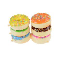 7 cm Mini Donut Squishy Slow Rising Cell Phone Straps Bread Anti stress Toys ZY