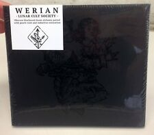 Werian Lunar Cult Society Limited Edition CD Digipak with Poster 2017 New Sealed