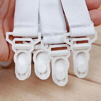 4x Fitted Bed Sheet Holder Sheet Grip Mattress Gripper Clip Fastener