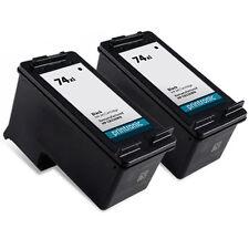 2 Pack HP 74XL Ink Cartridge Officejet J5725 J5730 J5735 J5738 J5740 J5750 J5780