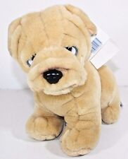 Plush SHAR PEI  Puppy Dog Stuffed Animal Toy Just Friends Cuddle Toy Lovey