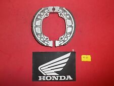 40-501G Emgo HONDA REAR  BRAKE SHOES GROOVED 303 * NEW