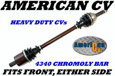 2008 POLARIS RANGER 500 4X4 FRONT EXTREME OFF ROAD ATV UTV CV JOINT AXLE