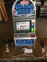 New BELATRA high end Siberian Gamble POKER MACHINE retails for $6,000.00