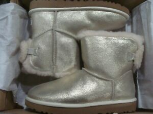 WOMENS UGG ARIELLE SPARKLE PGLD BOOTS 1112090 SIZE 7