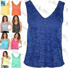 Unbranded Polyester V Neck Plus Size T-Shirts for Women