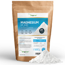 MAGNESIUM PURE 600g Tri-Magnesium Citrat Pulver ohne Zusatzstoffe Laborgeprüft