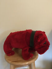 Plush Red Dog Beer Bulldog Advertising Vintage