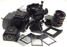 HASSELBLAD Flex body camera 500C/M Zeiss Distagon 4/50mm Sinar Emotion back kit