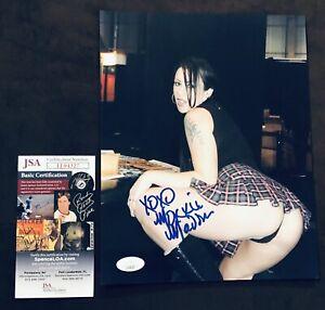 Moxxie Maddron SIGNED 8X10 PHOTO AUTOGRAPH Sexy Adult ⭐️ Naughty America JSA 🔥