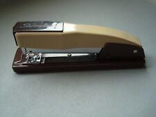 Vintage Swingline 444 Stapler - Dark Brown & Tan - Free US Shipping!