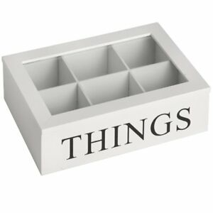 Wooden Storage Box 'Things' - Style My Pad