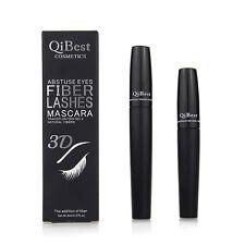 2Pcs 3D Mascara waterproof longue fibre cils épais Noir Curling Lashes Extension