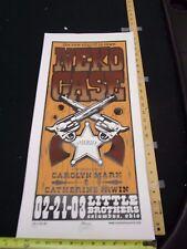 MB/ 2004 Rock Roll Concert Poster Neko Case Mike Martin S/N #100