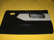 NISSAN/DATSUN 720 PICKUP DOOR PANEL W/ARM BLACK & GREY PASSENGER SIDE 1979-1985
