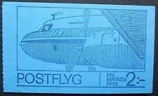 Sweden 1972 Swedish Mailplanes Booklet. MNH.