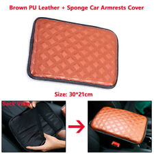 Universal Car SUV Pickup PU Leather Cushion Center Console Armrest Pad Cover