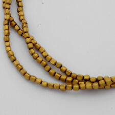 "Brass Beads Strand 30"" For Jewelry Making Tibetan Nepalese Handmade Nepal BS1075"