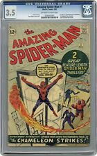 Amazing Spider-Man #1 CGC 3.5 1963 0280302001