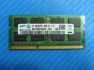 Sony VPCEH14FM Samsung 4GB 2Rx8 PC3-10600S SO-DIMM Memory RAM M471B5273DH0-CH9